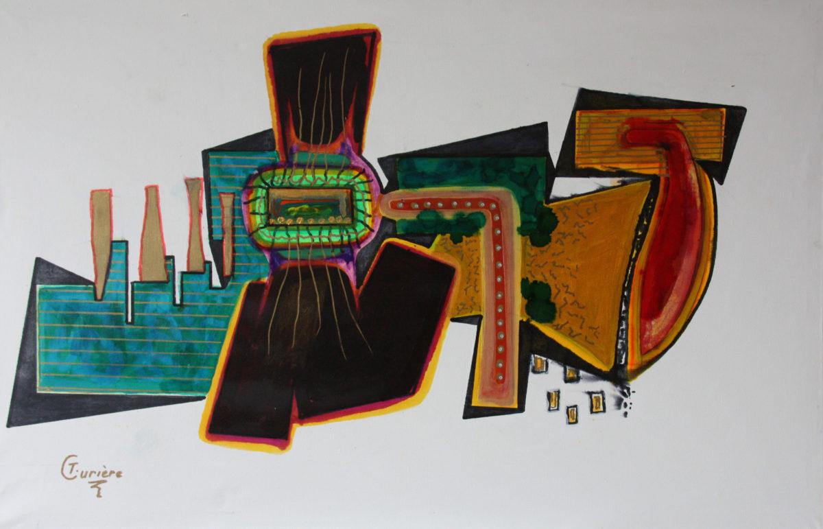 Schilderij Theo Curiëre